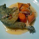 recette cuisses de canard aux carottes