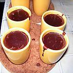 recette Crème onctueuse au chocolat