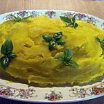 recette purée de potimarron au basilic.