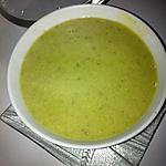 Soupe épinards Boursin