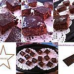 recette GATEAU NOISETTE CHOCOLAT SANS CUISSON: