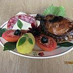 recette Chaussons fourrés au poulet. tomate. fromage.