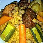 recette Couscous tunisien aux légumes