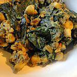 recette Sag Aloo (Pommes de terre et épinards à l'indienne)