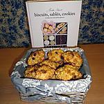 Biscuits aux pommes et flocons d'avoine