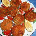 recette Croquette de thon