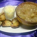 recette Soupe à l'oignon.