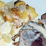 recette Magret d'oie aux pommes
