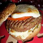 Burger au babybel