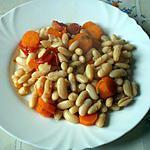 recette Haricots blancs aux carottes