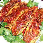 Courgette confite aux épices
