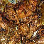 recette ailerons/pilons de poulet à l'indienne