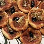 recette mini pizza au anchois