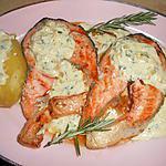 recette Darne de saumon sauce échalotes