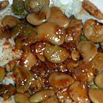 recette Gros haricots blancs d'espagne sauce tomate aux herbes de provence