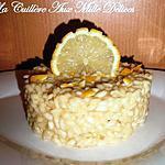 recette Risotto au citron