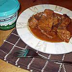 recette carbonades de boeuf à la pelure d'oignons