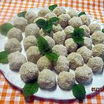 recette Boulettes de noix de coco.