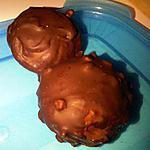 recette CAKE POPS PISTACHE / CHOCO LAIT