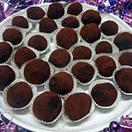 recette Truffes au chocolat sans oeufs.