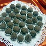 recette Truffes au chocolat avec oeufs.