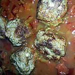recette boulettes de boeuf à la sauce tomate