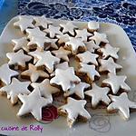 recette Etoiles à la cannelle de Noël