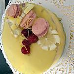 recette bavarois citrons framboise speculose