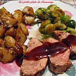 recette Filet de porc sauce à l'orientale
