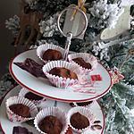 recette Truffes au chocolat et marrons