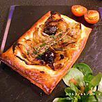 recette feuilleté pissaladière