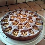 recette gâteau aux pommes rustique