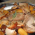 recette Poularde farcie en cocotte
