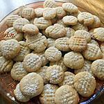 recette Biscuits écrasés à la noisette