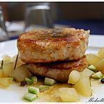 recette Filet mignon au Cidre et aux pommes caramélisées