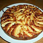 recette Gâteau ulta facile aux pommes et au calvados!!!!