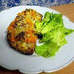 recette Tartine potimarron, bleu et noix