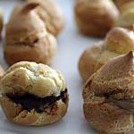 recette Choux Chocolat / Pralin