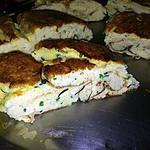 recette Omelette roulée au comté et au herbes