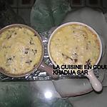 recette Gratin de pâtes au poulet et aux champignons