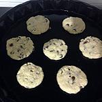 Cookies au chocolat noir pas trop sucrés