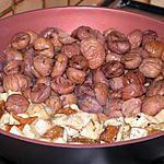 recette fricassée de cèpes aux châtaignes