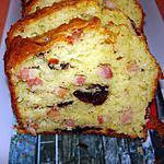 recette Cake aux pruneaux et aux lardons( de sophie dudemaine)
