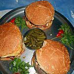 recette Hamburger façon raclette