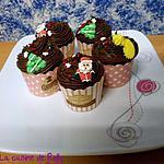 recette Cupcakes chocolat épices de Noël
