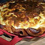recette Quiche aux poireaux et curry