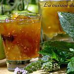 recette Confiture de tomates vertes et menthe