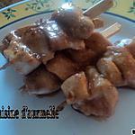 recette Brochette de yakitori aux poulet