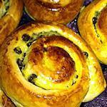 recette escargots briochés à la crème pâtissière