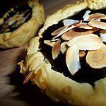 recette Mini tartelettes choco-amandes